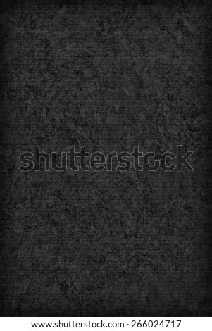 Photograph of Recycle Striped Burnt Umber Brown Pastel Paper, bleached, mottled, coarse grain, vignette grunge texture  - stock photo