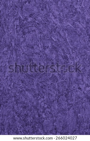 Photograph of Recycle Striped Deep Violet Pastel Paper, bleached, mottled, coarse grain, grunge texture sample. - stock photo