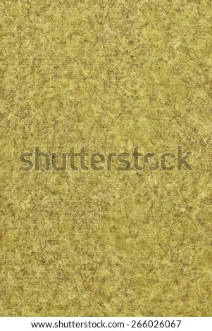 Photograph of Recycle Striped Lime Yellow Pastel Paper, bleached, mottled, coarse grain, grunge texture sample. - stock photo