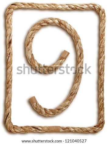 Photograph of Rope Number 9 - stock photo