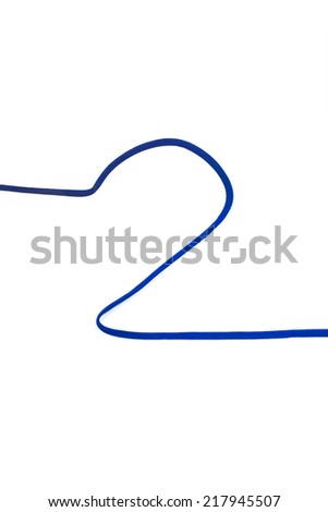 Photograph of Rope Number 2. - stock photo