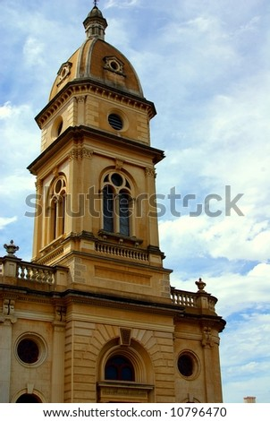 Photograph taken of a historic building in North Adelaide (South Australia). - stock photo