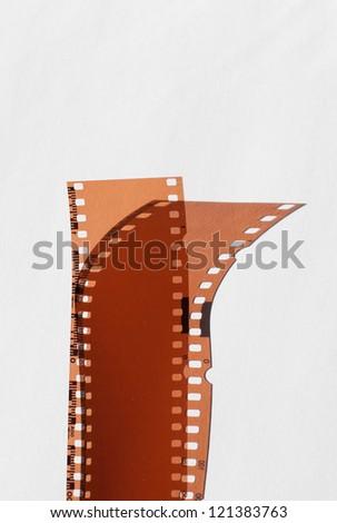 photography filmstrip - stock photo
