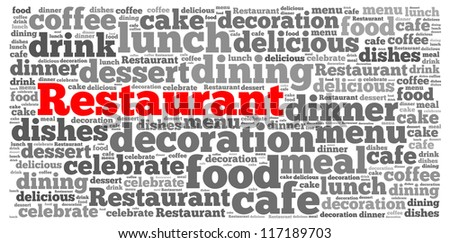 Photography Service info-text graphics and arrangement concept on white background (word cloud) - stock photo