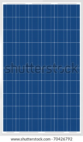 Photovoltaic texture. Solar panel. - stock photo