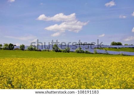 Photovoltaik - stock photo