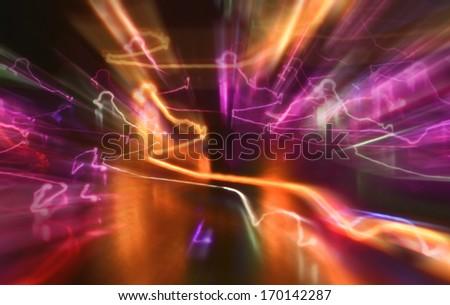 Physical phenomenon  - stock photo