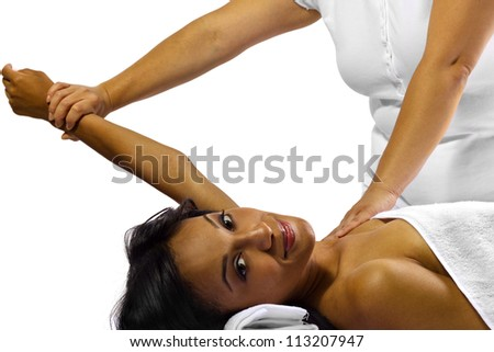 Physical Therapy - stock photo