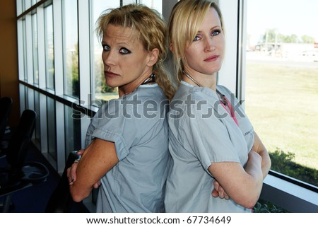 Physical Therapy Specialists - stock photo