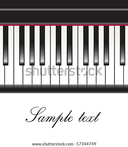 piano background.raster - stock photo