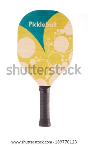 Pickleball Paddle - stock photo