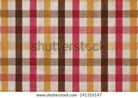 picnic tablecloth. good as background or backdrop. - stock photo