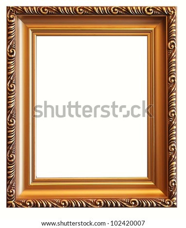 Picture frame - stock photo
