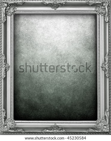 picture frame background - stock photo