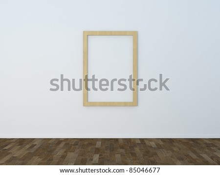 Picture frame photo frame - stock photo