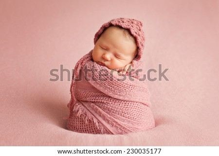 picture of a newborn baby  - stock photo