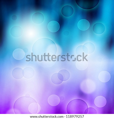 Picture of blured holiday background, illuminated light, New Year greeting card, Christmas decoration, glowing neon shine, mix of pink and blue festive backdrop, cyan business backgrounds, xmas eve - stock photo