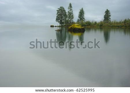 Picturesque autumn landscape. - stock photo