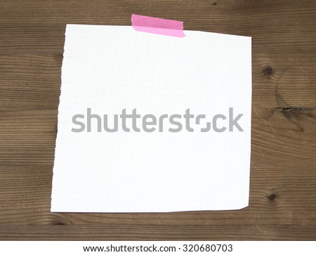 piece of paper - stock photo