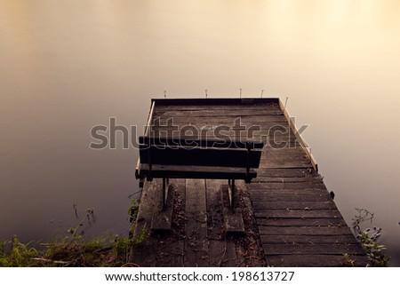 Pier - stock photo
