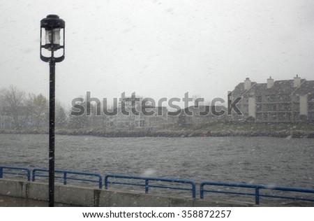 Pigeon River  - stock photo