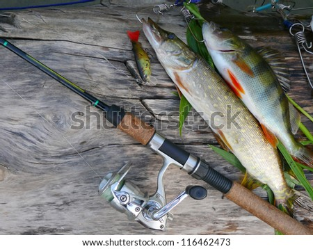 Fishing tackle stock photos images pictures shutterstock for White perch fishing rigs