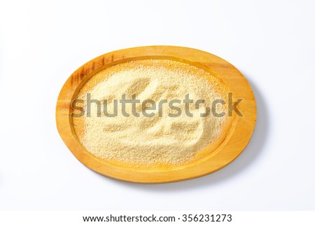Pile of breadcrumbs on a tray - stock photo