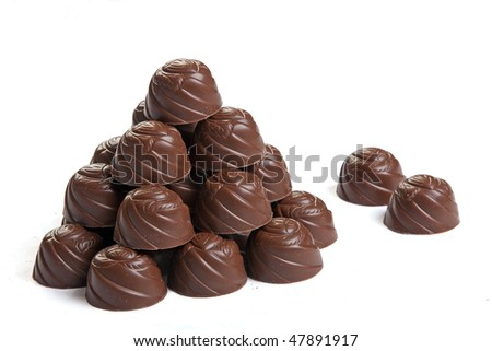 Pile of candies - stock photo