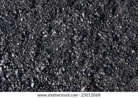 Pile of coal texture/background - stock photo