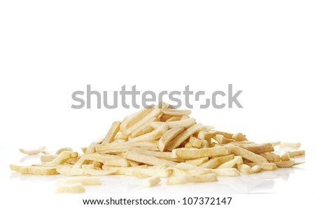 Pile of Fries - stock photo