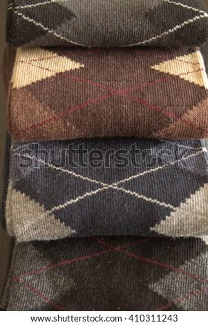 pile of socks - stock photo