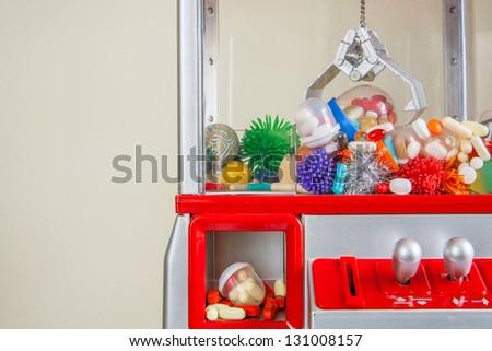 Pill Dispenser - stock photo