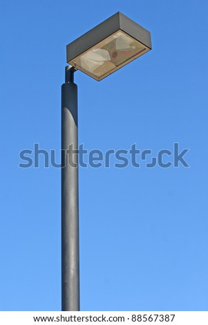 pillar spotlights - stock photo