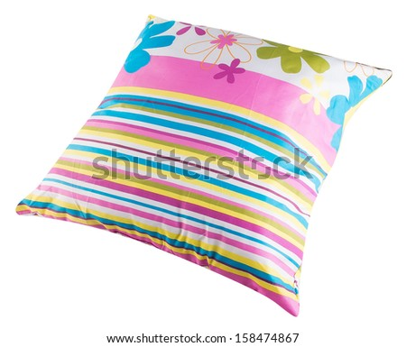 pillows, pillows on a background - stock photo