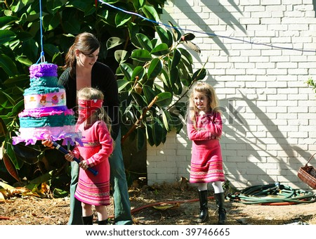 Pinata Party - stock photo