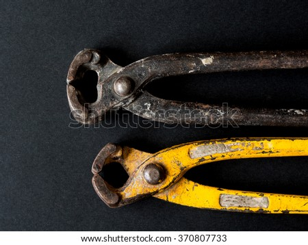 pincers - stock photo