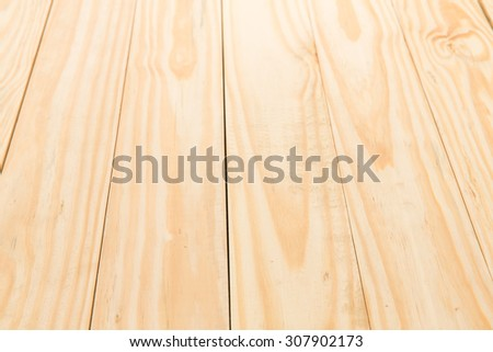 Pine wood table top background. - stock photo