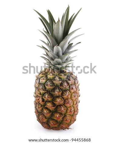 Pineapple Ananas isolated - stock photo