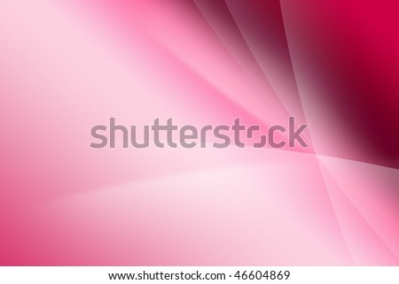 Pink and white silk wave background - stock photo
