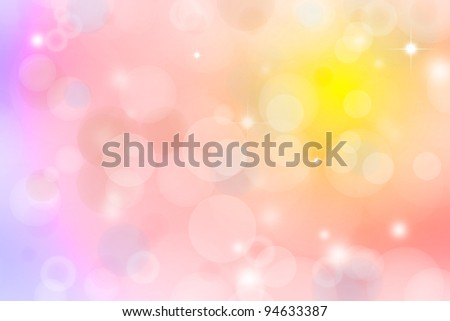 Pink and yellow abstract background - stock photo