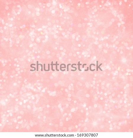 Pink Bokeh Background Texture - stock photo
