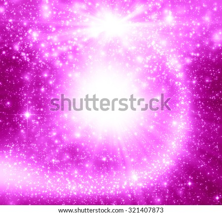 Pink christmas abstract background - stock photo