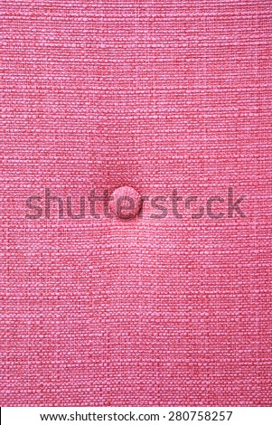 Pink fabric with bottom background - stock photo