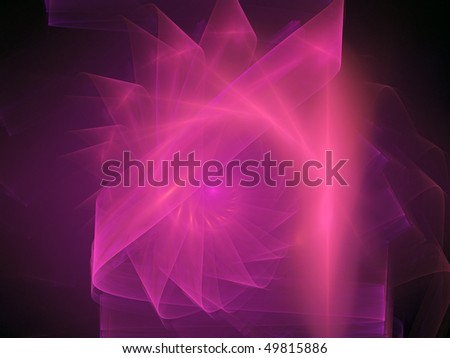 Pink feathers - stock photo