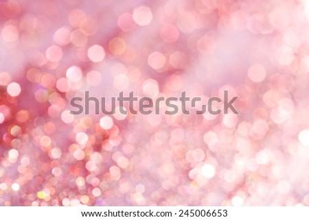 Pink festive elegant abstract background soft lights  - stock photo