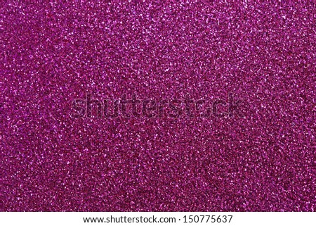 Pink glitter for texture or background - stock photo