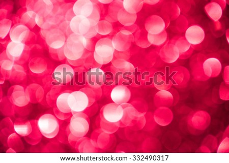 Pink glitter sparkle defocused rays lights bokeh beautiful abstract background. - stock photo