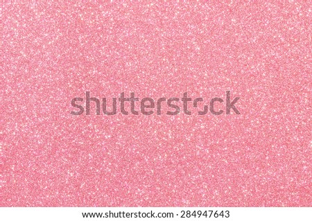 pink glitter texture christmas day background - stock photo
