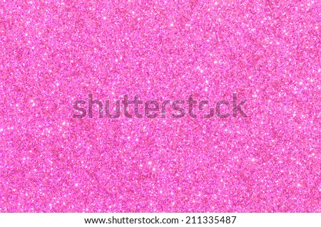 pink glitter texture valentine's day background - stock photo