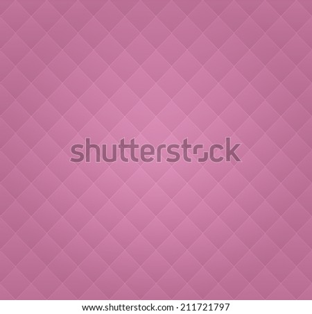 Pink Leather Vintage Seamless Background Pattern - stock photo